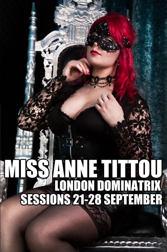 London Mistresses - Miss Anne TittouLondon Mistresses - Miss Anne Tittou