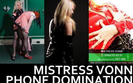 Mistress Von Online Domination